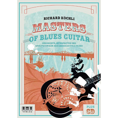 Libros didácticos AMA Masters Of Blues Guitar