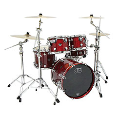 "DW Performance Cherry Stain 22"" Shell Pack « Drum Kit"