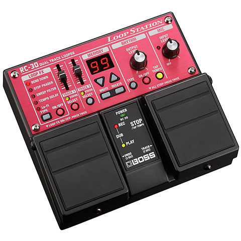 Pedal guitarra eléctrica Boss RC-30 Loop Station