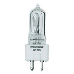 Omnilux 230 V 300 W GY-9.5 180 h « Lamp (Lightbulbs)