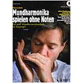 Libro di testo Schott Mundharmonika spielen ohne Noten