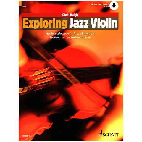 Lehrbuch Schott Exploring Jazz Violin