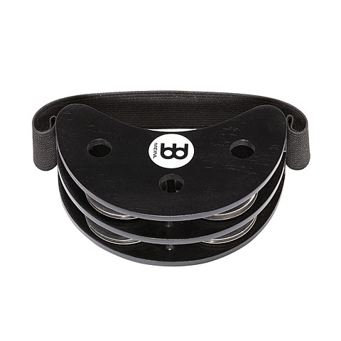 Pandereta Meinl FJS2S-BK Foot Jingle Tambourin