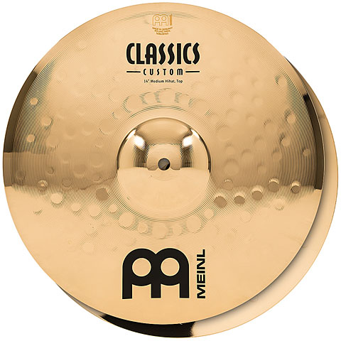 "Meinl Classics Custom 14"" Medium HiHat"