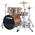 Sonor Smart Force Xtend SFX 11 Stage 2 Brushed Copper « Set di batterie