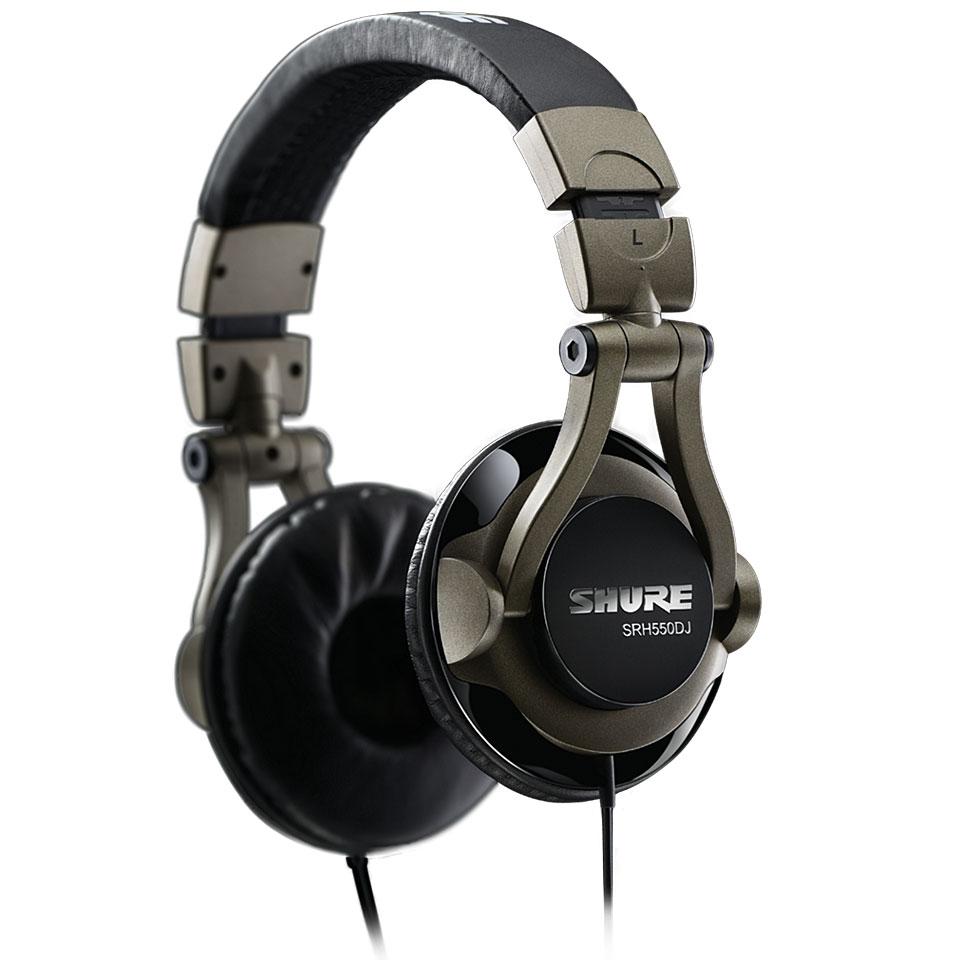 shure srh dj headphone