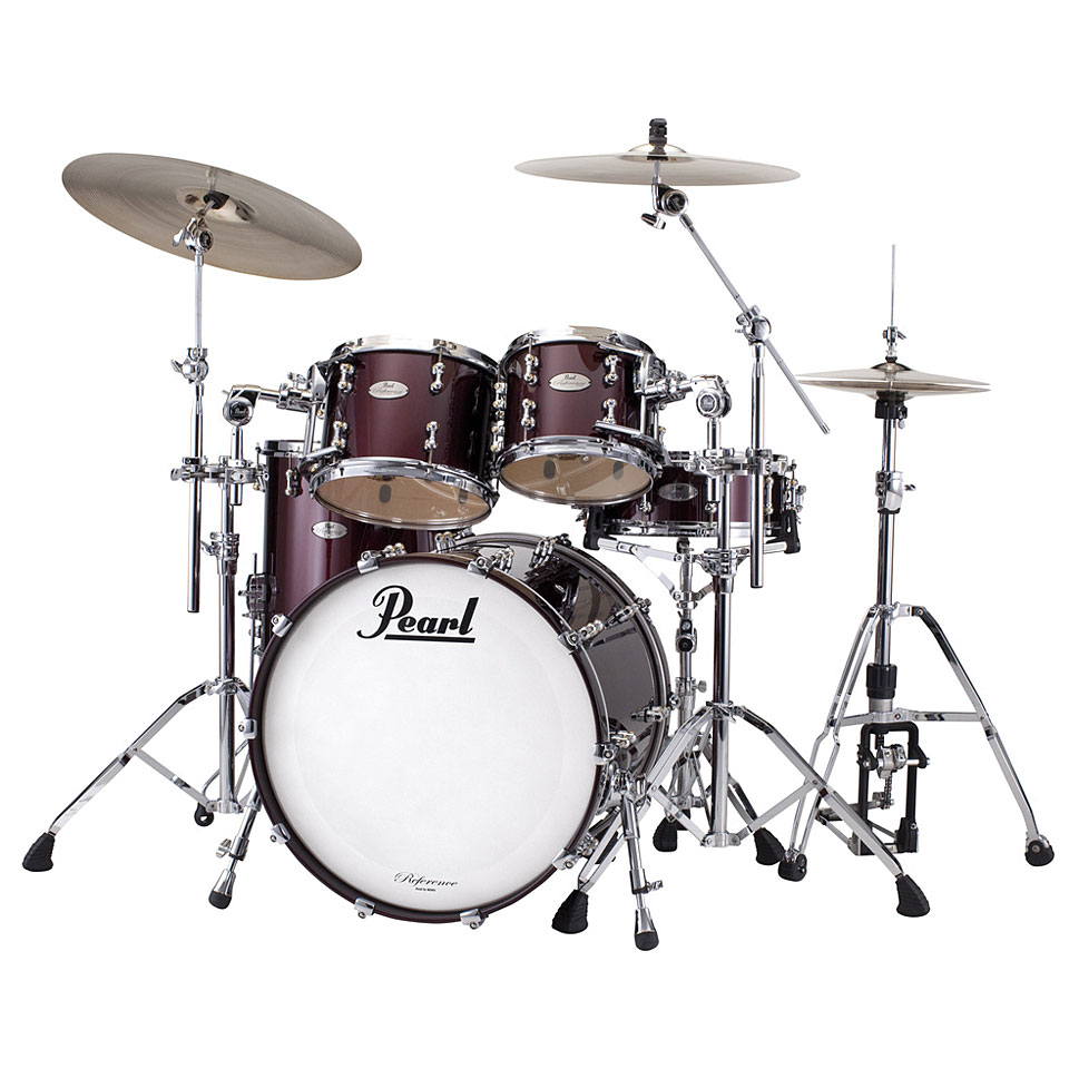 pearl reference pure rfp 924xsp 335 black cherry drum kit. Black Bedroom Furniture Sets. Home Design Ideas