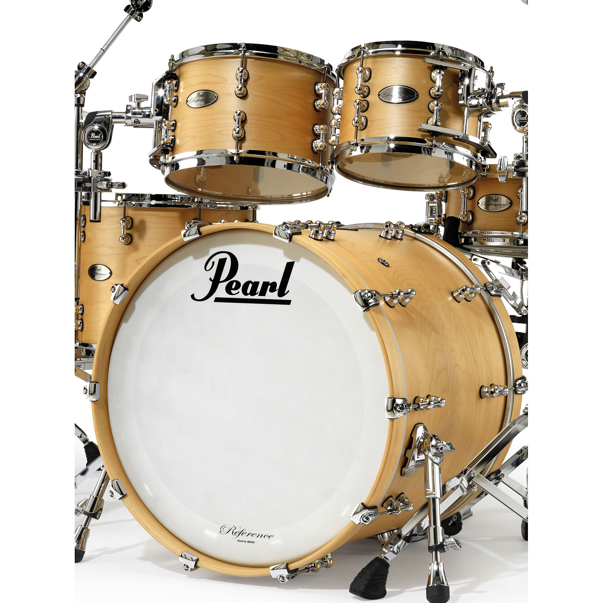 pearl reference pure rfp 924xep 111 matte natural drum kit. Black Bedroom Furniture Sets. Home Design Ideas