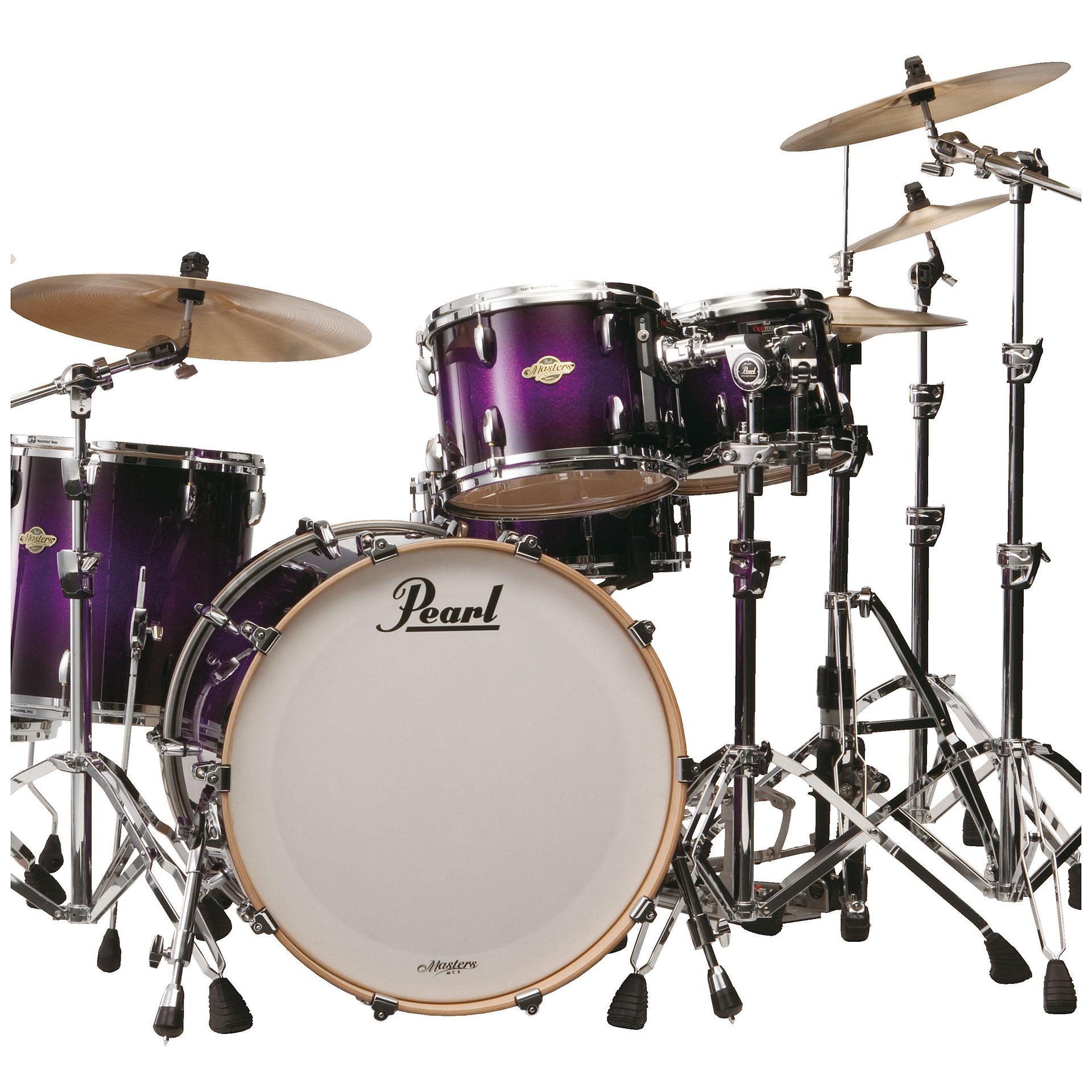 Pearl Masters Custom Maple MCX924XFP #369 Purple Sparkle ...