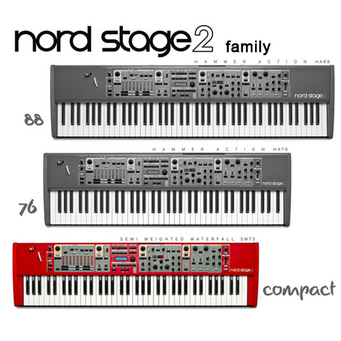 clavia nord stage 2 compact stage piano. Black Bedroom Furniture Sets. Home Design Ideas