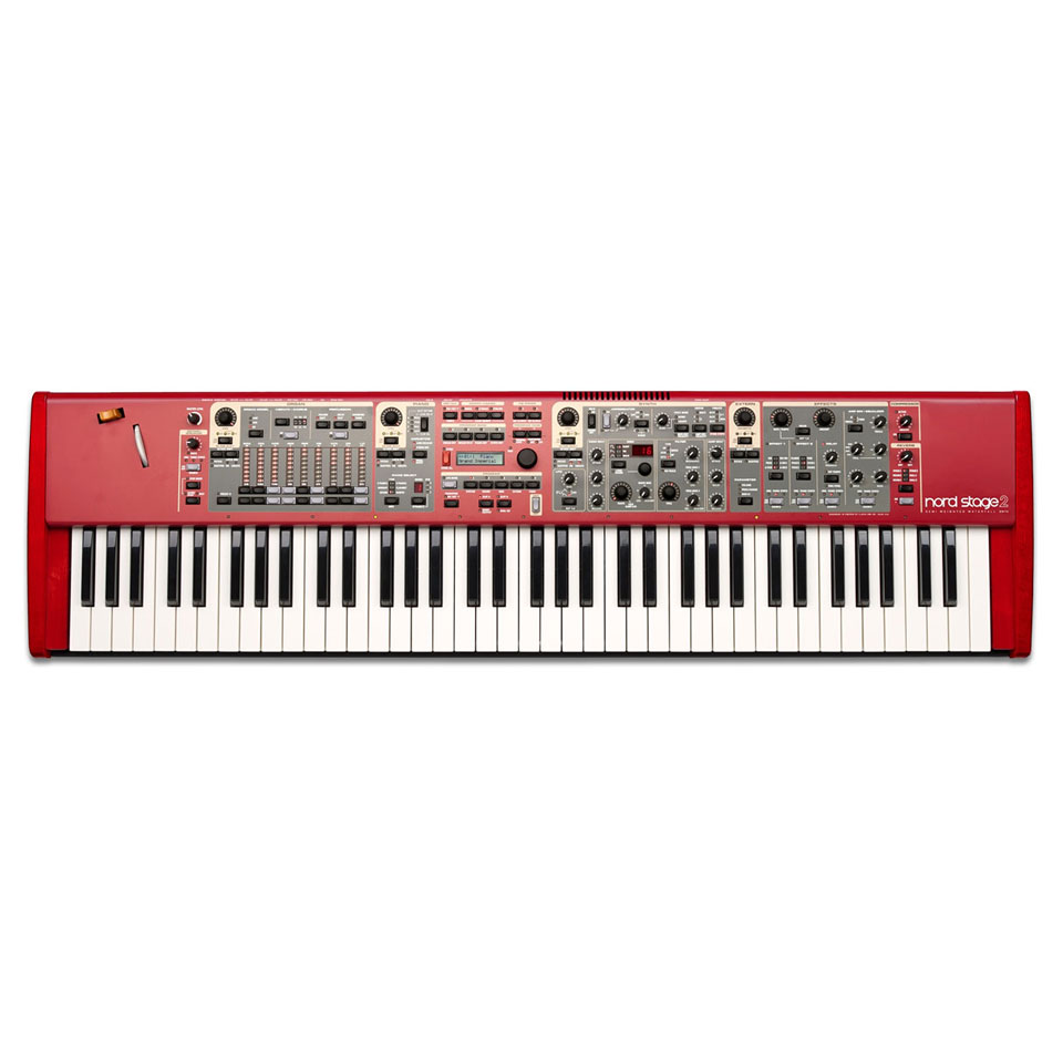 clavia nord stage 2 compact 73 key stage piano drum sets and keyboard. Black Bedroom Furniture Sets. Home Design Ideas