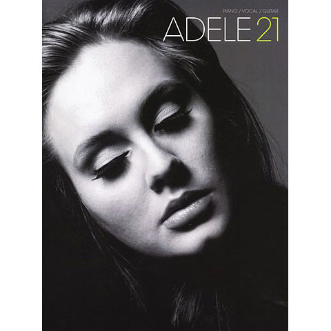 Songbook Music Sales Adele 21 - Piano / Vocal / Guitar