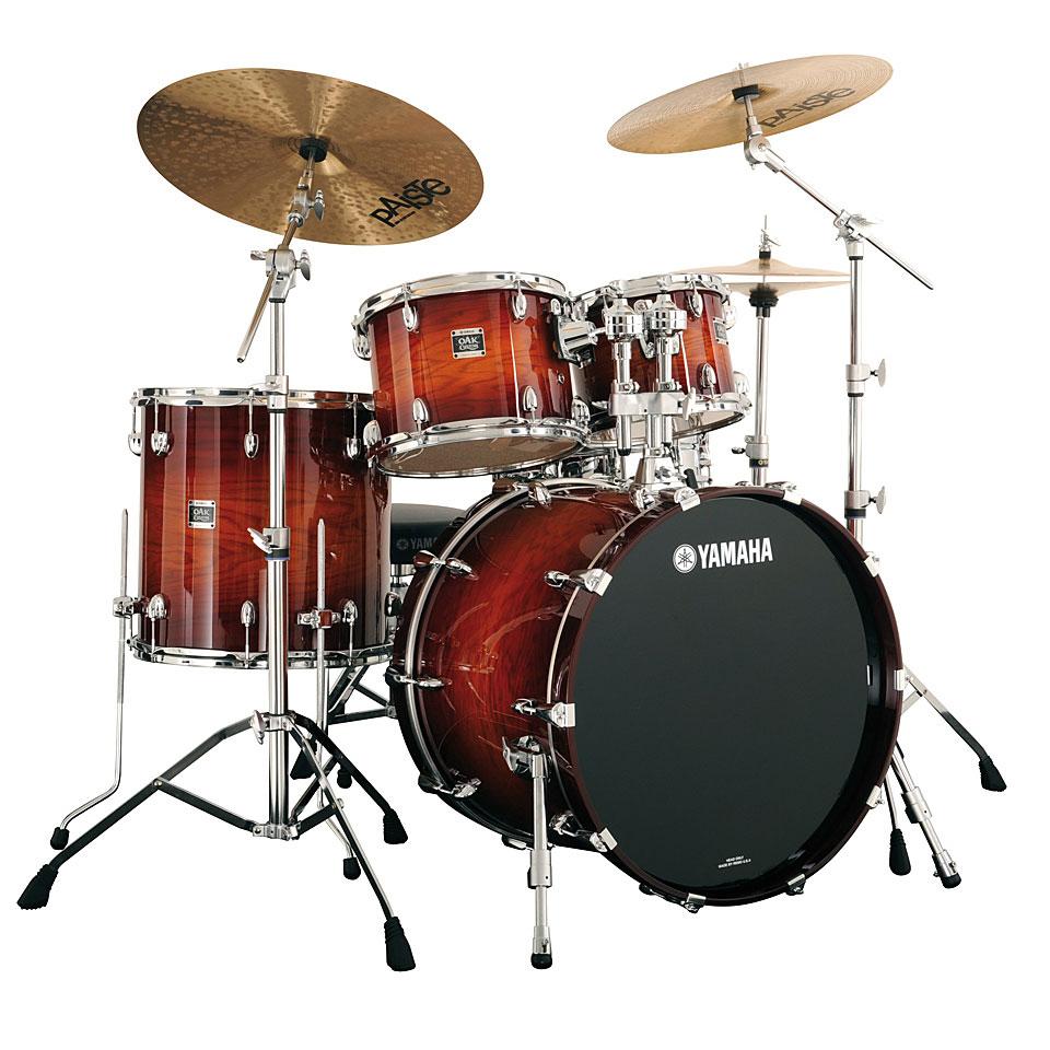 yamaha oak custom ny2fs4a ams drum kit. Black Bedroom Furniture Sets. Home Design Ideas