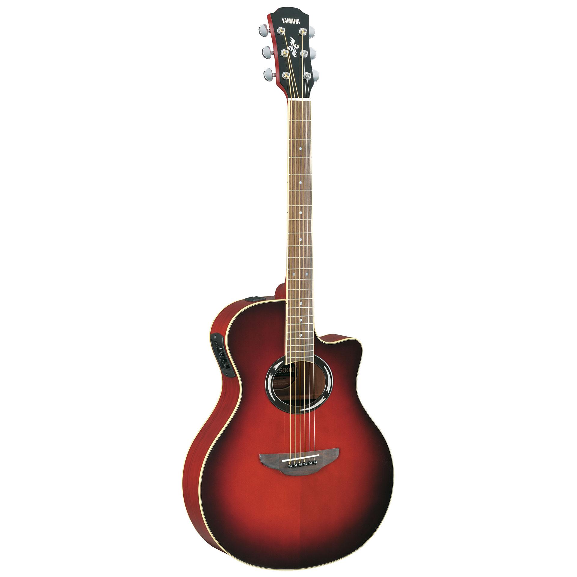 Yamaha apx500iii dsr acoustic guitar for Apx guitar yamaha