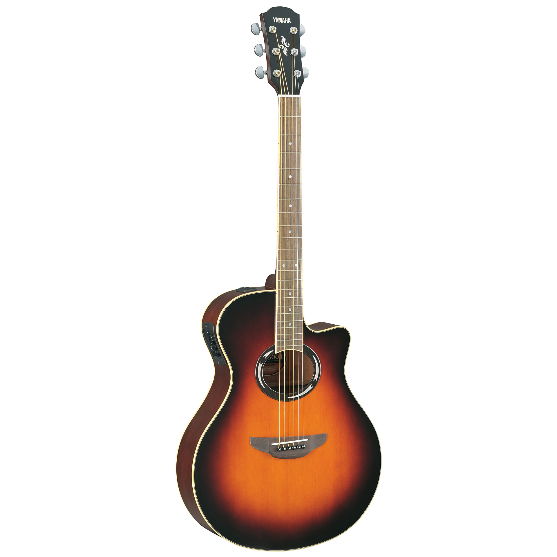 Yamaha apx500iii vs acoustic guitar for Yamaha apx series