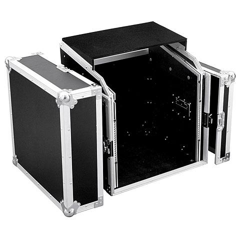 Roadinger Spezial-Kombi-Case LS5 Laptop-Rack, 10HE