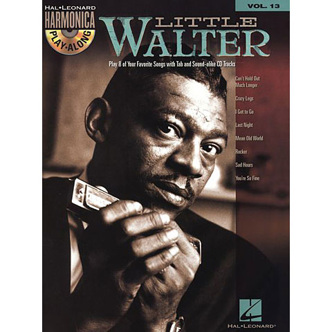 Hal Leonard Harmonica Play-Along Vol.13 - Little Walter