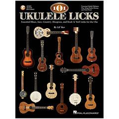 Hal Leonard 101 Ukulele Licks « Libros didácticos