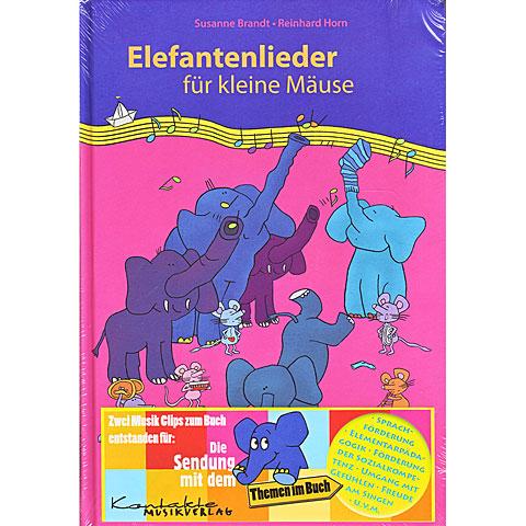 Kontakte Musikverlag Elefantenlieder für kleine Mäuse