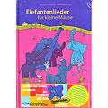 Livre pour enfant Kontakte Musikverlag Elefantenlieder für kleine Mäuse