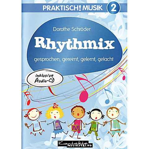 Kontakte Musikverlag Praktisch! Musik 2 - Rhythmix