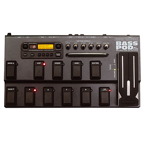 Line 6 Bass PODxt live