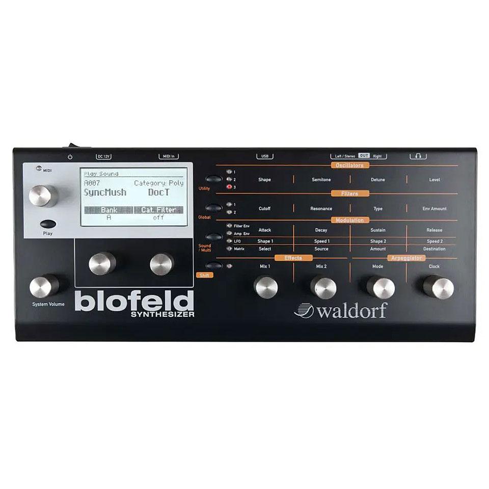 Synthesizer - Waldorf Blofeld Black Synthesizer - Onlineshop Musik Produktiv