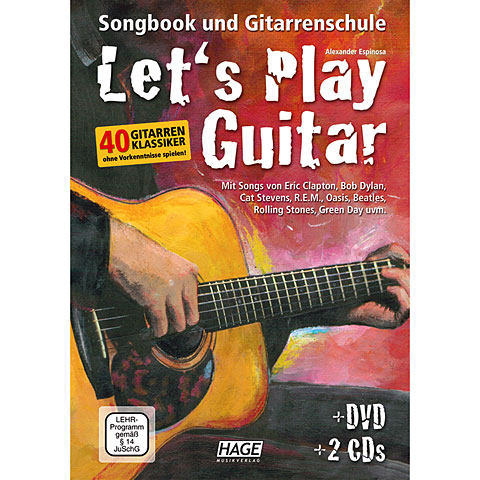 Hage Let's Play Guitar