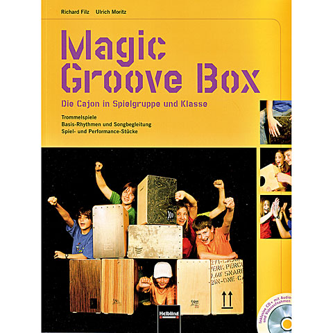 Libros didácticos Helbling Magic Groove Box