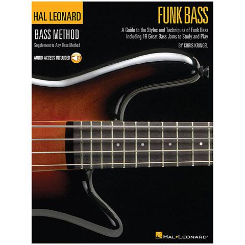 Manuel pédagogique Hal Leonard Bass Method - Funk Bass