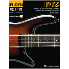 Hal Leonard Bass Method - Funk Bass « Libro di testo