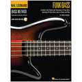 Libros didácticos Hal Leonard Bass Method - Funk Bass