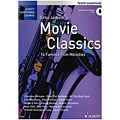 Libro de partituras Schott Saxophone Lounge - Movie Classics