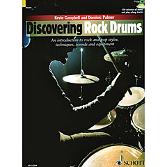 Schott Discovering Rock Drums