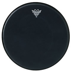 "Remo Emperor Black Suede 10"" Tom Head « Tom-Fell"