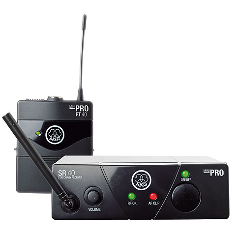 Guitar Wireless Systems AKG WMS-40 Mini Instrumental ISM2