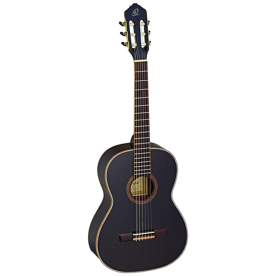 Konzertgitarren - Ortega R221BK 7 8 Konzertgitarre - Onlineshop Musik Produktiv