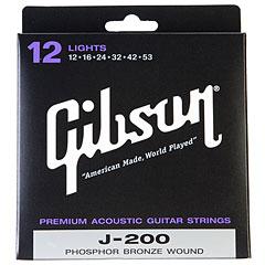 Gibson J-200 « Cuerdas guitarra acúst.