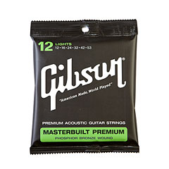 Gibson Masterbuilt Premium « Western & Resonator Guitar Strings