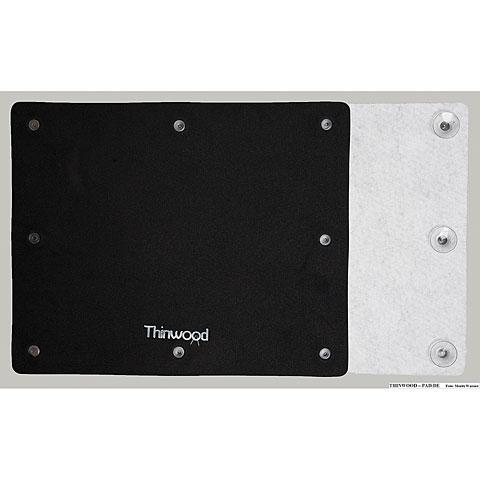 Thinwood Bass Drum Universal Damper Pad with Fleece