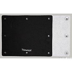 Thinwood Bass Drum Universal Damper Pad with Fleece « Pad d'entraînement
