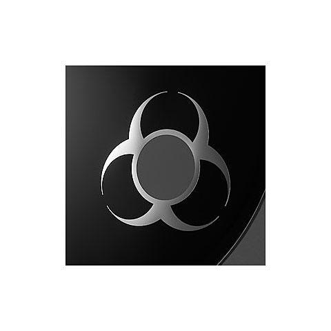 "Accesor. parches Remo Biohazard Chrome 3"" Bass Drum Port"