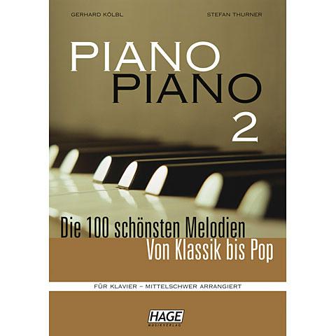 Hage Piano Piano 2 (Mittelschwer)