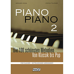 Hage Piano Piano 2 (Mittelschwer) « Recueil de Partitions
