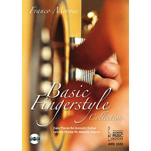 Recueil de Partitions Acoustic Music Books Basic Fingerstyle Collection