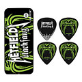 Púa Dunlop James Hetfield Black Fang Pick Tin (0,73 mm)