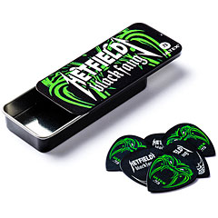 Dunlop James Hetfield Black Fang Pick Tin (0,73 mm) « Plektrum