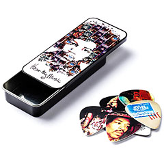 Dunlop Jimi Hendrix Hear My Music Pick Tin, Medium « Plektrum