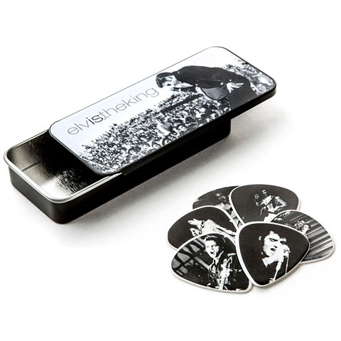 Médiators Dunlop Elvis Presley Elvis the King Pick Tin