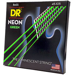 DR Neon Green Medium « Corde basse électrique